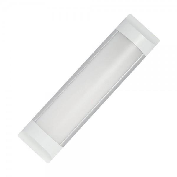 LED lámpatest , 18W , 60 cm , kompakt armatúra , természetes fehér