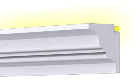 KA-01/K oldalfali díszléc  1250mm