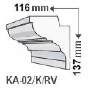KA-02/K oldalfali díszléc