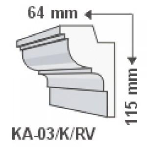 KA-03/K oldalfali díszléc