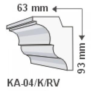 KA-04/K oldalfali díszléc