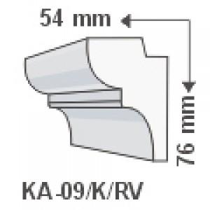 KA-09/K oldalfali díszléc