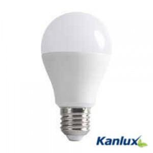 LED lámpa, égő, E27 foglalat, A60 körte forma, 10 watt, 190° fok, meleg fehér - Kanlux
