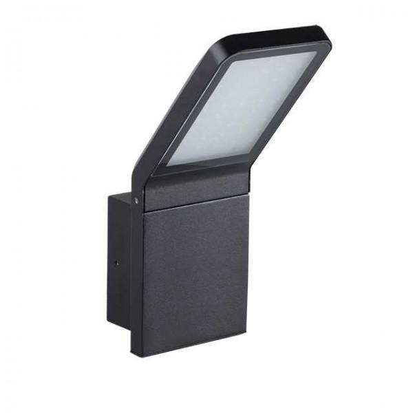 Sevia fekete oldalfali LED kerti lámpa, 9 Watt, természetes fehér,