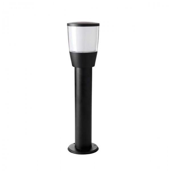 Sorta fekete kerti lámpa oszlop, 50 centiméter, E27, Ip44