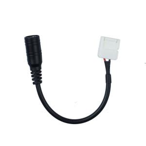 DC csatlakozó, LED szalag átalakító, 3528 LED szalaghoz