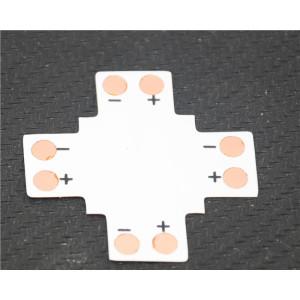 Led szalag PCB elosztó elem, X irányú, 3528 szalagokhoz,