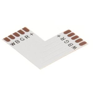 "LED szalag RGBW 10 mm PCB ""L"" toldó elem"