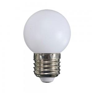 Kisgömb opál LED égő E27 1W 2700K 75lm G45