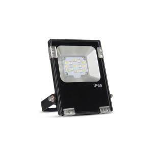 10W RGB+CCT kültéri színes és állítható fehér színű reflektor, díszvilágító lámpatest, IP65