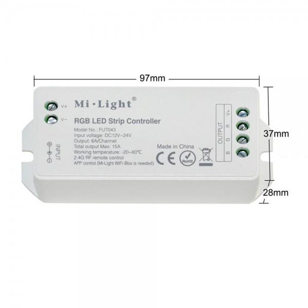 4 zónás RGB LED szalag vezérlő