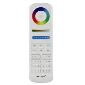 8 csatornás Mi-Light távirányító, RGB, RGBW, RGB+CCT
