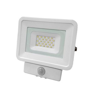 Optonica LED reflektor,  kültéri,  mozgásérzékelős, IP65 védettségű, Classic Line, 10 W, hideg fehér