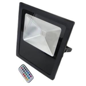 RGB színes LED reflektor 10 Watt távirányítóval