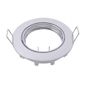 Egyszerű billenthető spotkeret, GU10 és MR16 lámpákhoz, fehér
