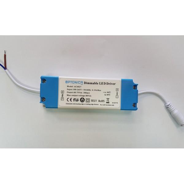 Szabályozható tápegység Optonica LED panelekhez 24 Watt