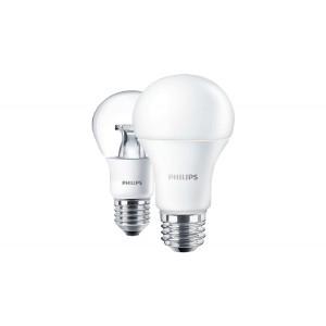 Philips CorePro LED izzó, E27, 8-60 Watt, 2700K meleg fehér,