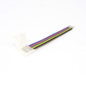 LED szalag forrasztásmentes betáp RGB + CCT szalaghoz