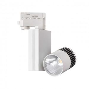 Sínes LED reflektor 11 Watt 3F (4000K) Fehér TRACO
