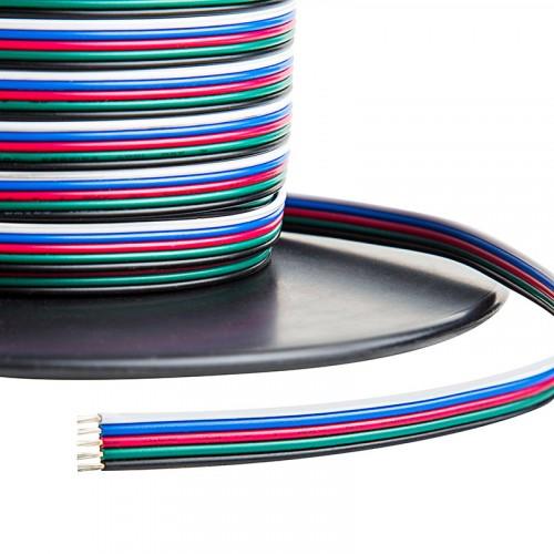 4 eres vezeték RGB LED szalagokhoz