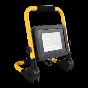Hordozható , LED reflektor, SMD, 30 Watt, IP65, természetes fehér