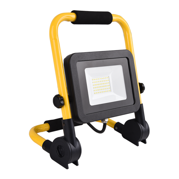 Hordozható , LED reflektor, SMD, 50 Watt, IP65, természetes fehér