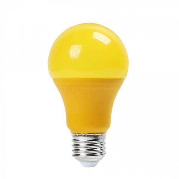 Sárga Dekor LED égő 9 Watt E27