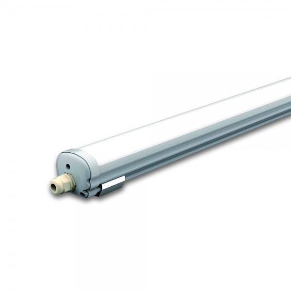 Por és páramentes LED lámpatest 150cm 48W természetes fehér
