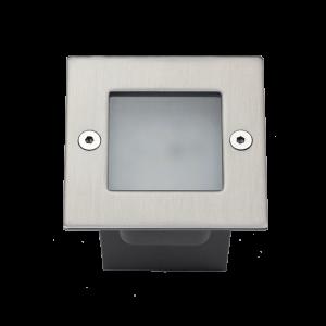 Elmark GRF9607 LED homlokzat világítás, süllyesztett, négyszögletű, 9x1,2 W