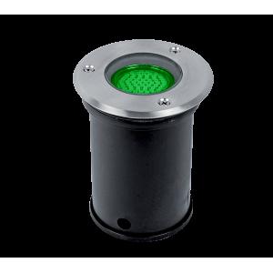 Elmark GRF10503 talajba süllyesztett LED világítás, GU5.3, MR16, 3W, 12V, zöld fény