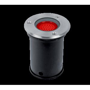 Elmark GRF10505 talajba süllyesztett LED világítás, GU5.3, MR16, 3W, 12V, piros fény