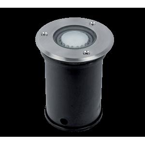 Elmark GRF10609 talajba süllyesztett LED világítás, GU10, 6W, 230V, kék fény