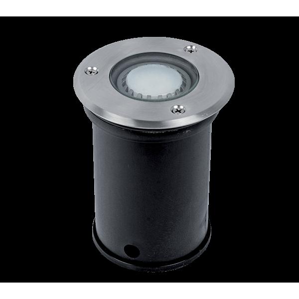Elmark GRF10608 talajba süllyesztett LED világítás, GU10, 6W, 230V, zöld fény
