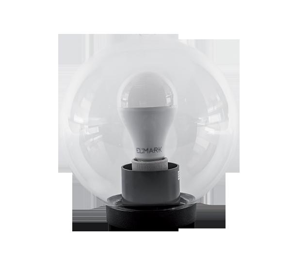 Elmark PMMA átlátszó gömb LED kerti világítás,