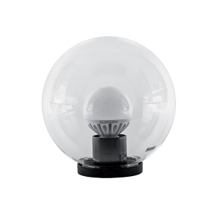 Elmark PMMA átlátszó gömb LED homlokzatvilágítás, G95, E27, 25cm átmérő