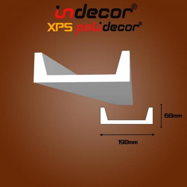 Lec-09-B Beépíthető lámpatesthez díszléc