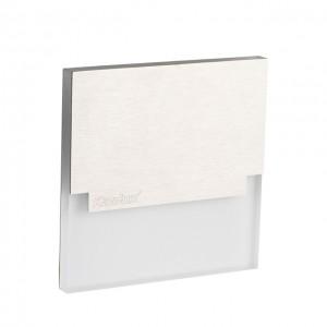SABIK LED lépcsővilágító meleg fehér, 12VDC, rozsdamentes acél