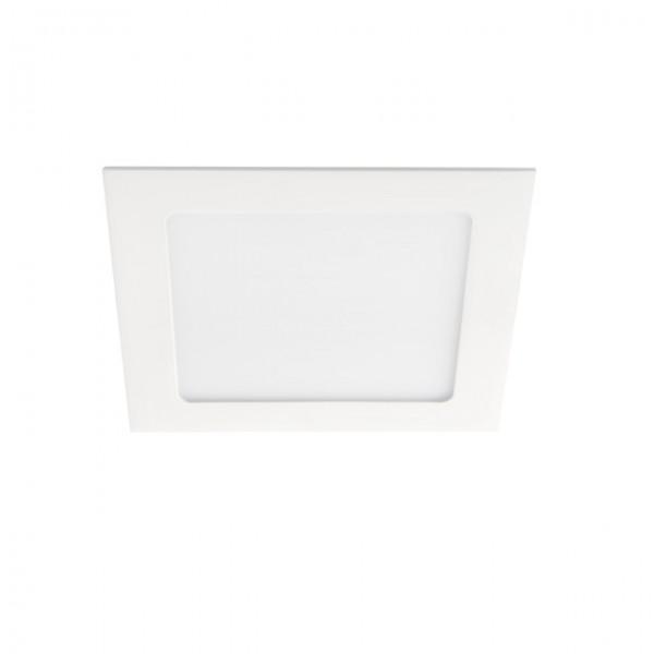 Kanlux Katro LED panel , 12W , süllyesztett , négyzet , természetes fehér -  fehér keret