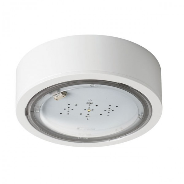 iTECH M2 302 M ST W biztonsági lámpa IP65,  2 watt, 3 órás, 245 lm