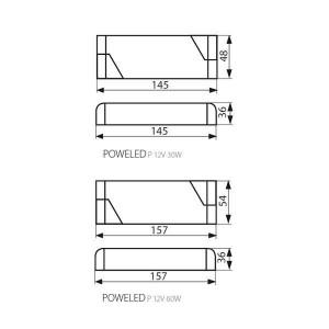 Kanlux POWELED LED trafó 0-30W (IMBER LED-hez)