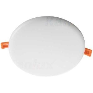 Kanlux AREL LED panel keret nélküli kerek 25W, 4000K