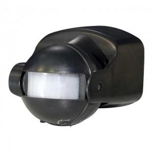 KANLUX ALER LED PIR Mozgásérzékelő 160° 12 m, IP44 , fekete