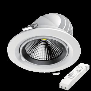 INOS-L Professzionális billenthető LED mélysugárzó 30W 4000K 3500lm 5 év garancia