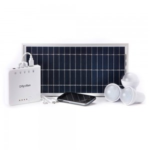 OffgridSun Prémium Hordozható Energiacsomag