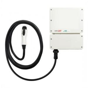 SolarEdge SE3680HD-Wave 1 fázisú inverter beépített EV töltővel