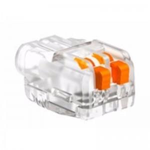 OBO nyitható vezetékösszekötő 2-es 0,2-2,5mm2 univerzális átlátszó