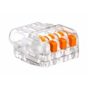 OBO nyitható vezetékösszekötő 3-as 0,2-2,5mm2 univerzális átlátszó