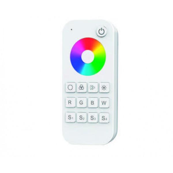 Elmark egy zónás RF vezeték nélküli RGBW LED távirányító