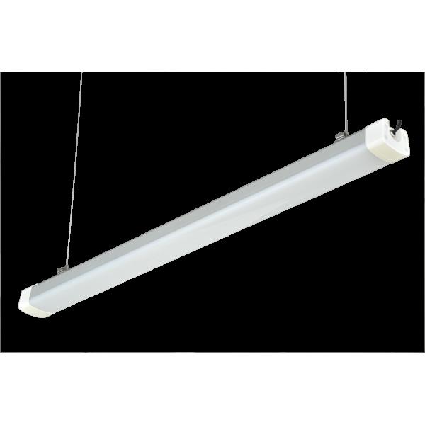 LED lámpatest , 60 W , 150 cm , IP65 , kompakt armatúra