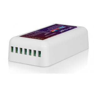 DMX512 vevő , vezérlő , RGB , RGBW LED eszközökre , Rx , Receiver